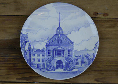 Collectable Poole Pottery The Guild Hall 1906 Plate