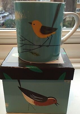 Magpie Birdy Wagtail Mug/cup New Boxed