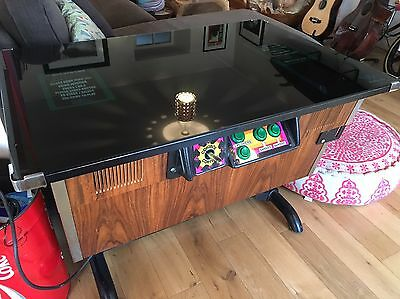 Classic Table Top Retro Arcade Machine Retro 80s Space Invaders, Pac Man