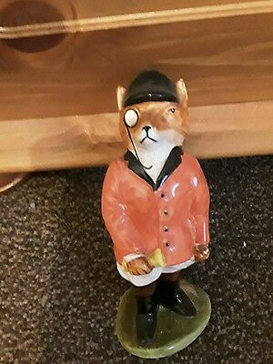 MR FOX HUNTING ORNAMENT made by acorn