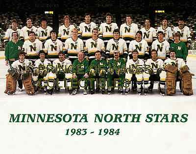 1984 Minnesota North Stars Team Photo 8X10
