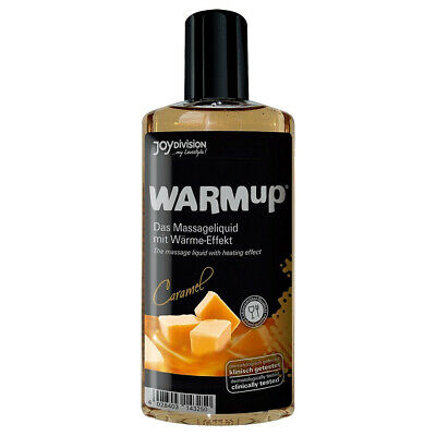 Joydivision Warmup Caramel 150 ml Massage-Öl wärmend Oral Erotik-Gel essbar