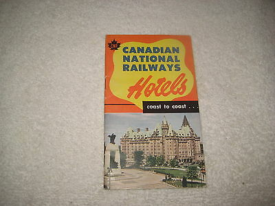 Vintage 1951 Canadian National Railways Hotels Brochure 30 Pages Very Nice