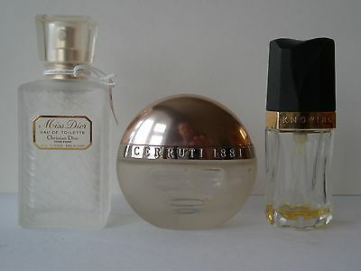scent bottle group x 3