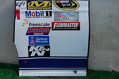 Trevor Bayne #6 ADVOCARE NASCAR RACE USED Contingency Panel Sheet Metal