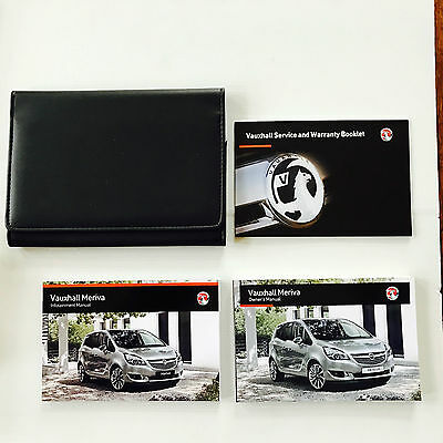 Vauxhall Meriva - Service Book New Blank Original + Handbook Pack 2014 Onwards
