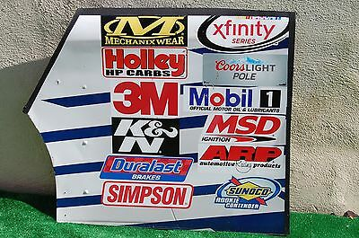 Bubba Wallace #6 FORD EcoBoost NASCAR RACE USED Sheet Metal