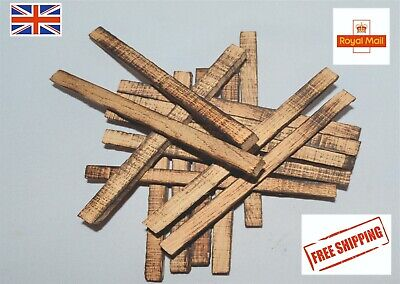 Oak Sticks for Aging Whiskey,Oak Chips,Oak Chunks,Wooden Oak Barrels,Medium