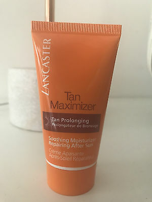 New Lancaster Suncare Aftersun Tan Maximiser Soothing Moisturiser 50Ml Travel