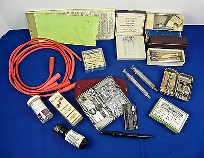 Visiting Home Nurse Misc. instruments & Other Items from 1930s in Wash & Ore, US