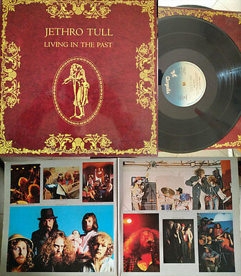JETHRO TULL: LIVING IN THE PAST - 2x VINYL / LP - NEAR MINT 1972