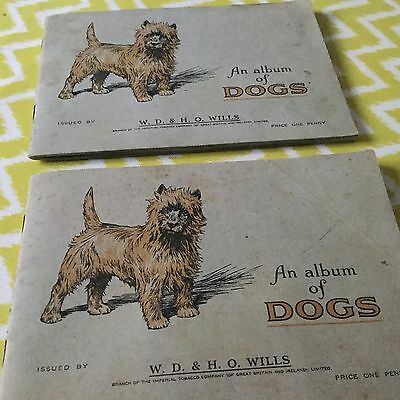 W H & H O Wills Cards Dogs