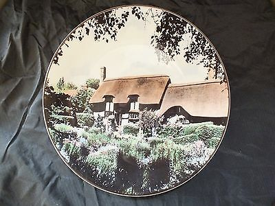 Royal Doulton plate Anne Hathaway's cottage TC1027