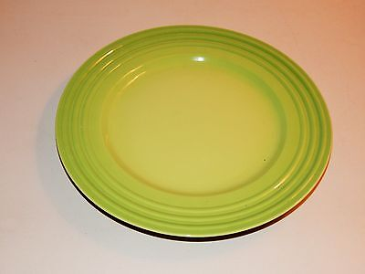"""Lovely Le Creuset 12 1/8"""" Diameter Dinner Plate, Palm Color, Four (4) Available"""
