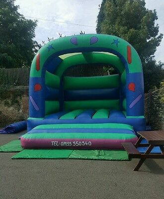 15' kids & adult party bouncy castle comercial