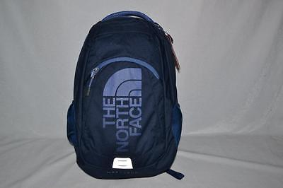 Authentic The North Face Haystack Cosmic Blue Backpack Bookbag Daypack Brand New