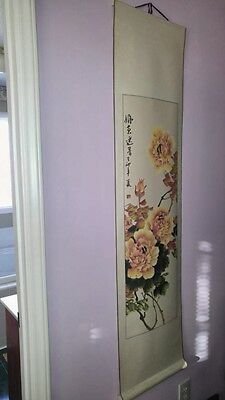 Original, Not Reproduction. Chinese Scroll painting 16x62