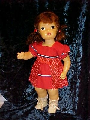 Early 1950's Terri Lee Doll marked on back with clothing