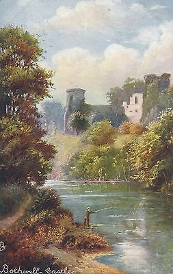 POSTCARD  SCOTLAND  BOTHWELL     Castle         Tuck
