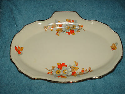a vintage alfred meakin oval cake plate