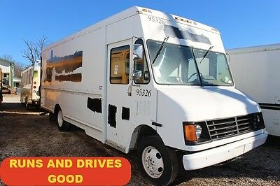 1995 Chevrolet P30 Chevy step van cargo food truck 350 v8 gas Used 18 ft Box