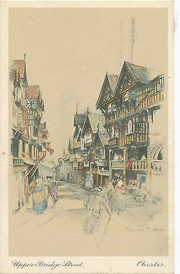POSTCARD  CHESTER   Upper  Bridge  Street