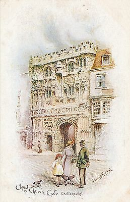 POSTCARD  CANTERBURY   Christ Church  Gate