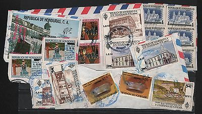 Honduras Cover Cuts (5) Architecture Include French Revolution Souvenir Sheet