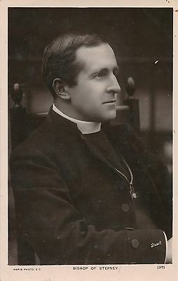 POSTCARD  PERSONS  RELIGION   STEPNEY   The  Bishop