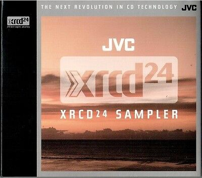 XRCD JVCXR-0230: JVC-XRCD24 SAMPLER - OOP 2004 JAPAN Near Mint