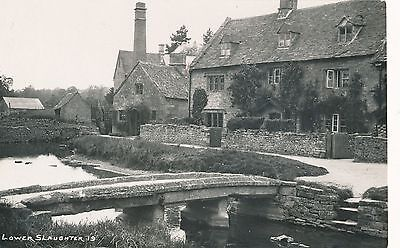 Postcard  Gloucestershire  Lower  Slaughter