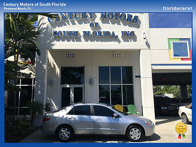2005 Honda Accord  2.4 Liter 4 Cylinder Engine 1 Owner 19 Service Records Carfax