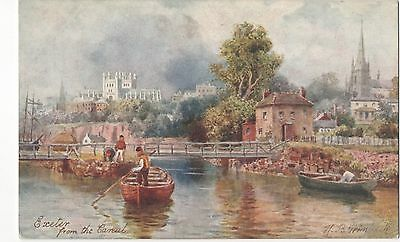 POSTCARD  EXETER                                  Tuck