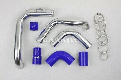 Kit Tubulure Piping Aluminium durites Megane 2 RS 225 230 R25 R26 R26R Bleu