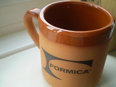Royal Barum Ware Mr Brannam's collection Terracotta Mug, Formica logo