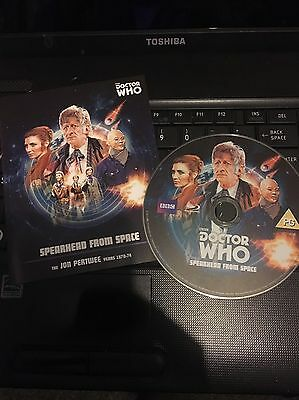Dr Who Spearhead From Space Blu Ray
