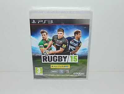 Rugby 15 2015 -  Playstation 3 PS3 PAL New & Sealed
