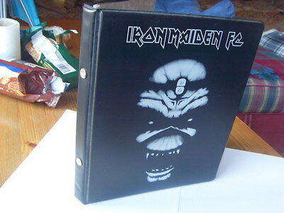 Rare Iron Maiden Fan Club Official Binder A5 size