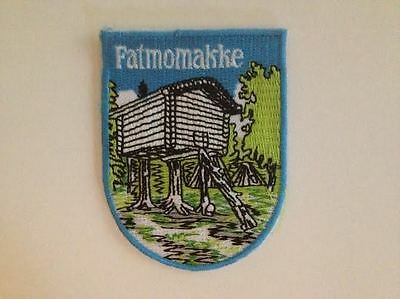 Fatmomakke Sweden Shield Flag Hat Jacket Biker Vest BackpackTravel Patch Crest
