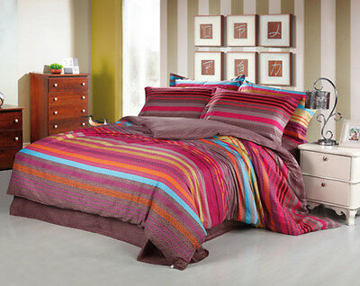 Twin Full Double Queen King DUVET COVER SET COMFORTER COVER EGYPTIAN COTTON #008
