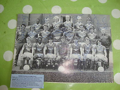 Barnsley Multi Signed Team Picture c1980's