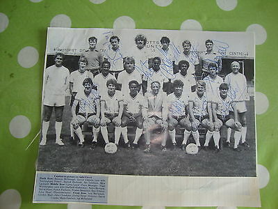 Notts County Multi Signed Team Picture 19854