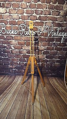 Winsor and Newton Severn Artists Painting Easel Sturdy Beechwood portable
