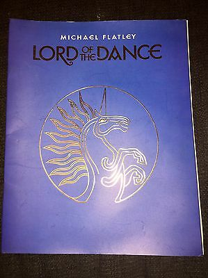 Michael Flatley Lord Of The Dance Theatre Show Programme
