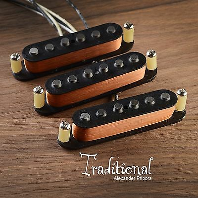 Scatter wound pickups fit Fender Stratocaster Traditional hand made set.