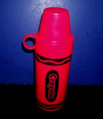 Red Plastic Crayola Thermos Bottle