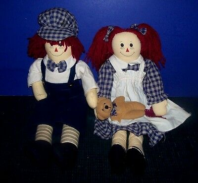 Raggedy An & Andy Dolls