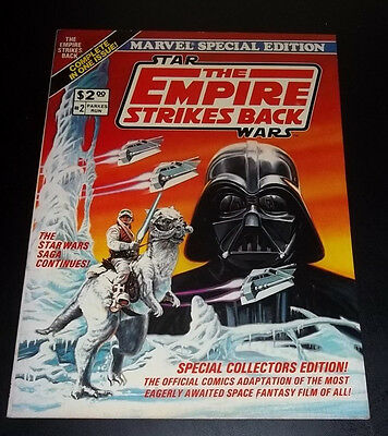 Star Wars Empire Strikes Back Marvel Comics Special Edition Oversized
