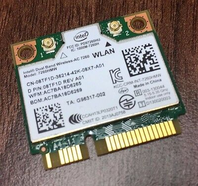 Genuine Dell Latitude E5440 E7240 E7440 Wifi Card 08Tf1D 8Tf1D - Intel 7260Hmw