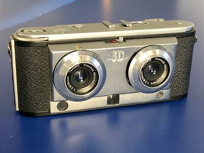 Iloca 3D Stereo 35mm Film Camera In Working Order - Stereograms